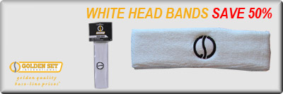 White Head Bands