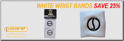 White Wrist Bands