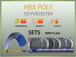 Hex Poly Sets (40ft/12.2m)