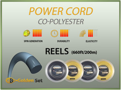 Power Cord Reels (660ft/200m)